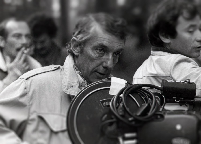 Philippe de Broca sur un tournage