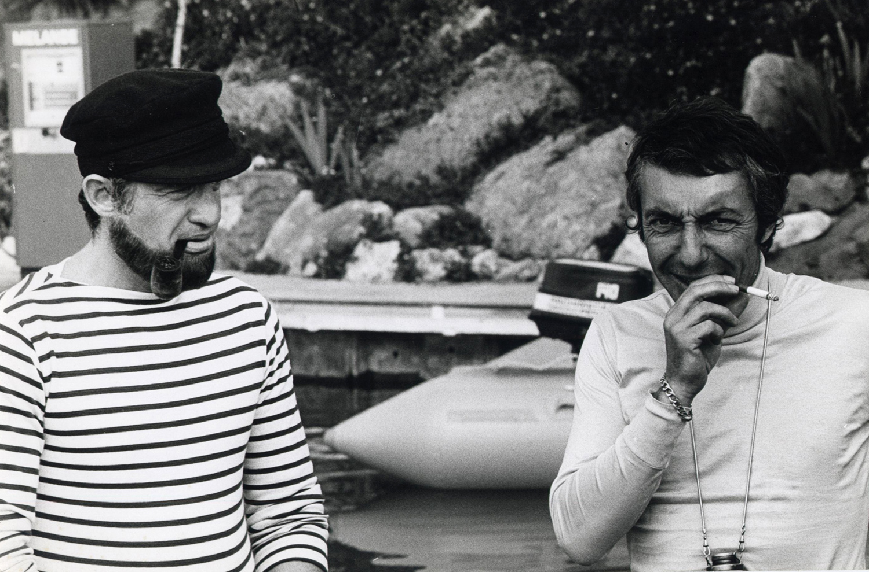 Jean-Paul Belmondo et Philippe de Broca