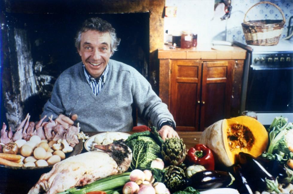 Philippe de Broca dans sa maison à Vert