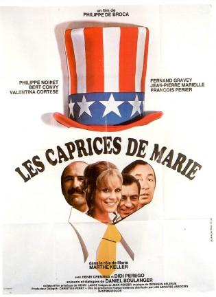 Affiche du film Les Caprices de Marie de Philippe de Broca
