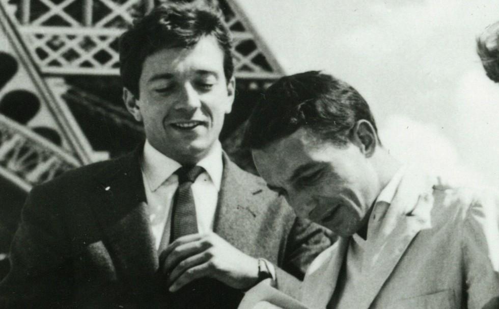 Philippe de Broca et Jean-Pierre Cassel