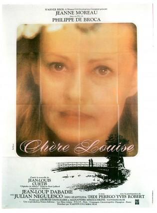 Affiche du film Chère Louise de Philippe de Broca avec Jeanne Moreau