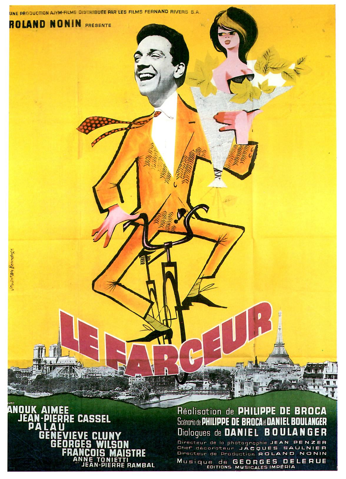 Affiche du film Le Farceur de Philippe de Broca