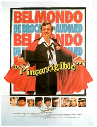 Affiche du film L'Incorrigible de Philippe de Broca