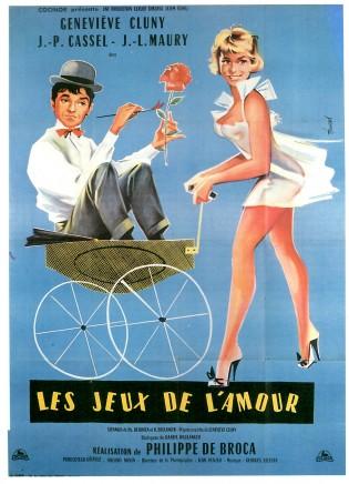 Affiche du film Les Jeux de l'amour de Philippe de Broca