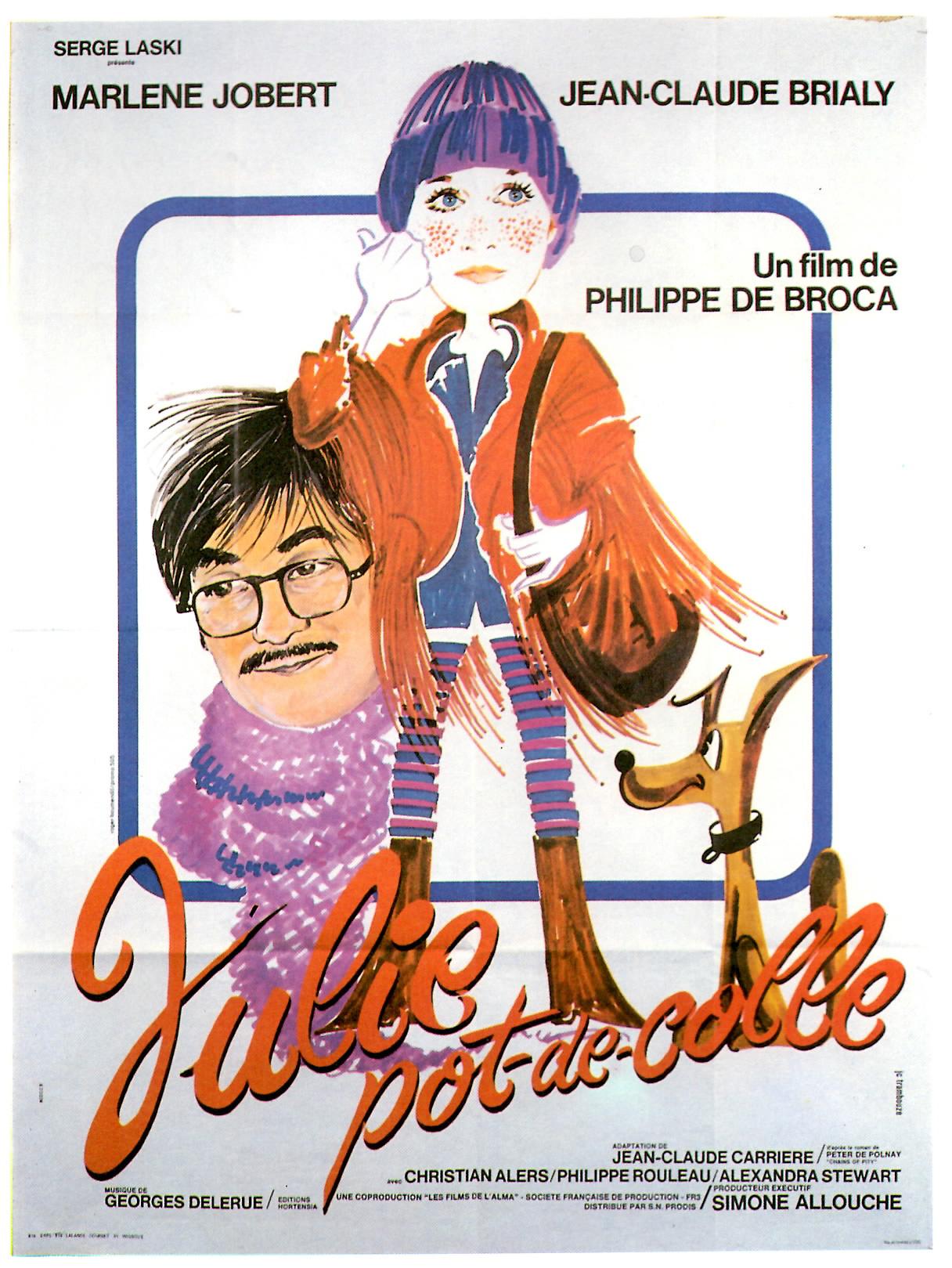 Affiche du film Julie Pot de colle de Philippe de Broca