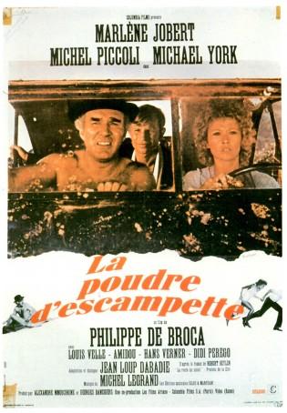 Affiche du film La Poudre d'escampette de Philippe de Broca