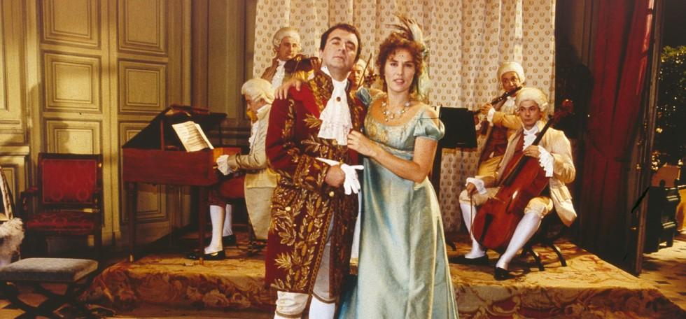 Bruno Solor et Mathilde Seigner dans Madame Sans-gêne de Philippe de Broca