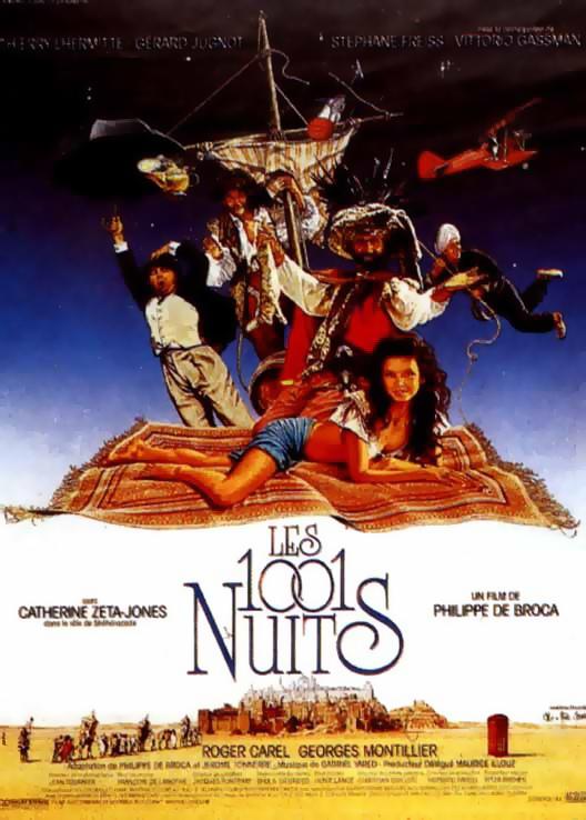 Affiche du film Les 1001 Nuits de Philippe de Broca