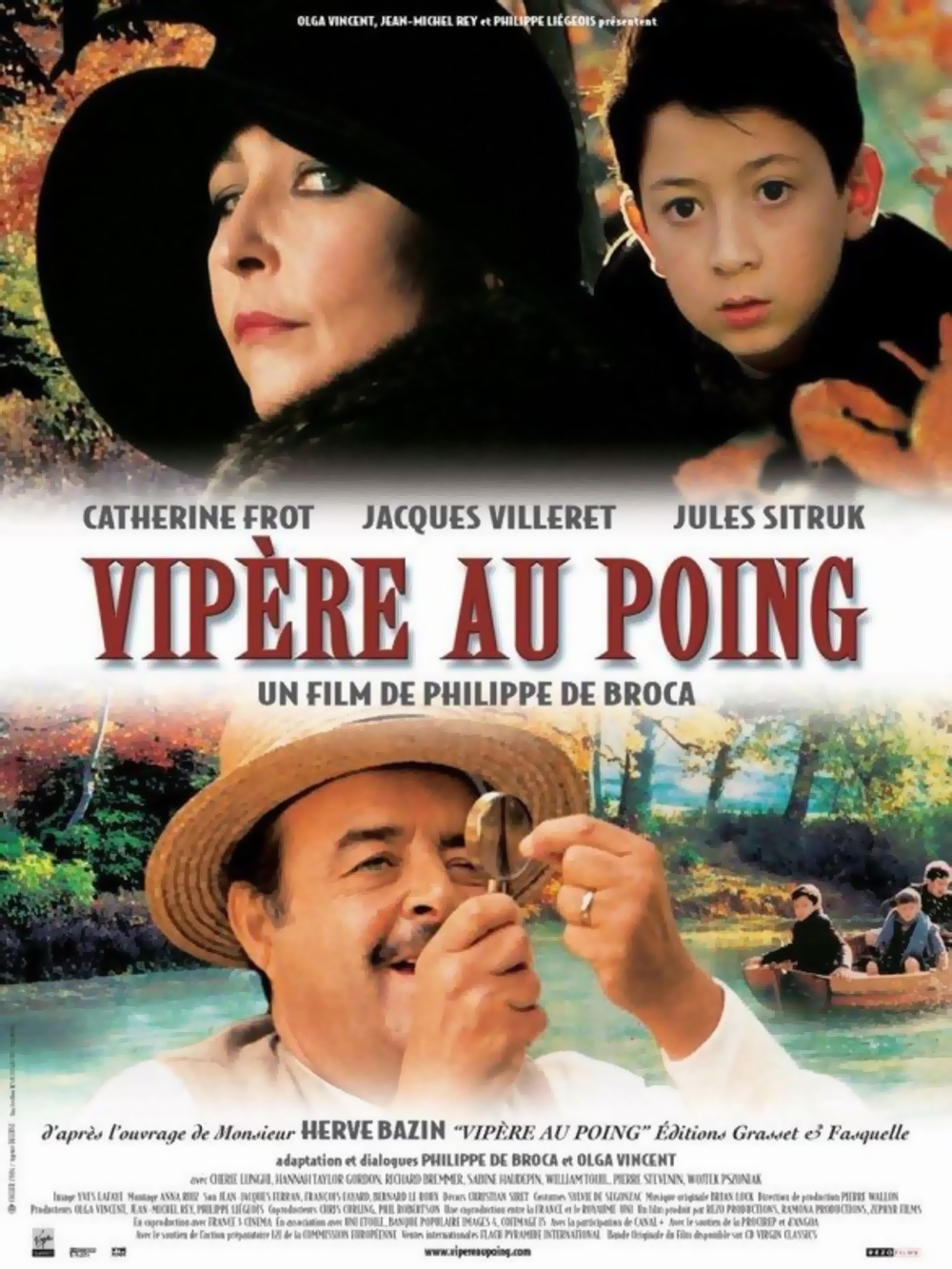 Affiche du film Vipère au poing de Philippe de Broca