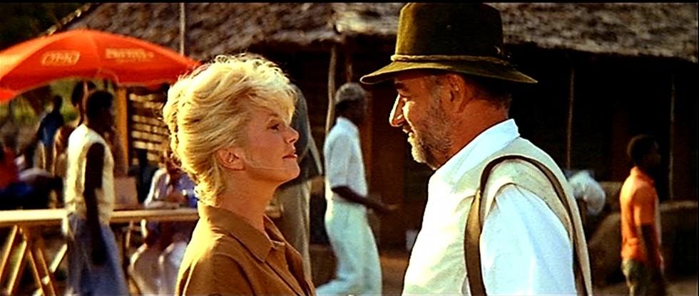 Catherine Deneuve et Philippe Noiret dans L'Africain de Philippe de Broca