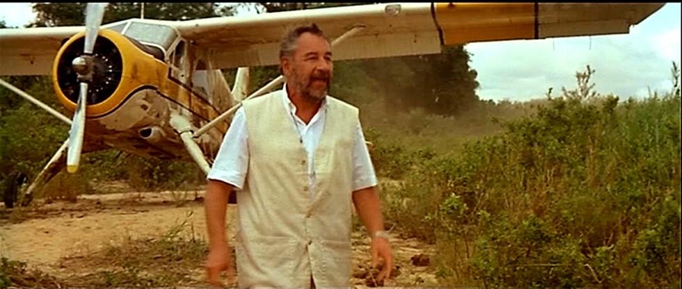 Philippe Noiret dans le film L'Africain, de Philippe de Broca