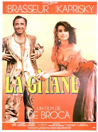 Affiche du film La Gitane de Philippe de Broca