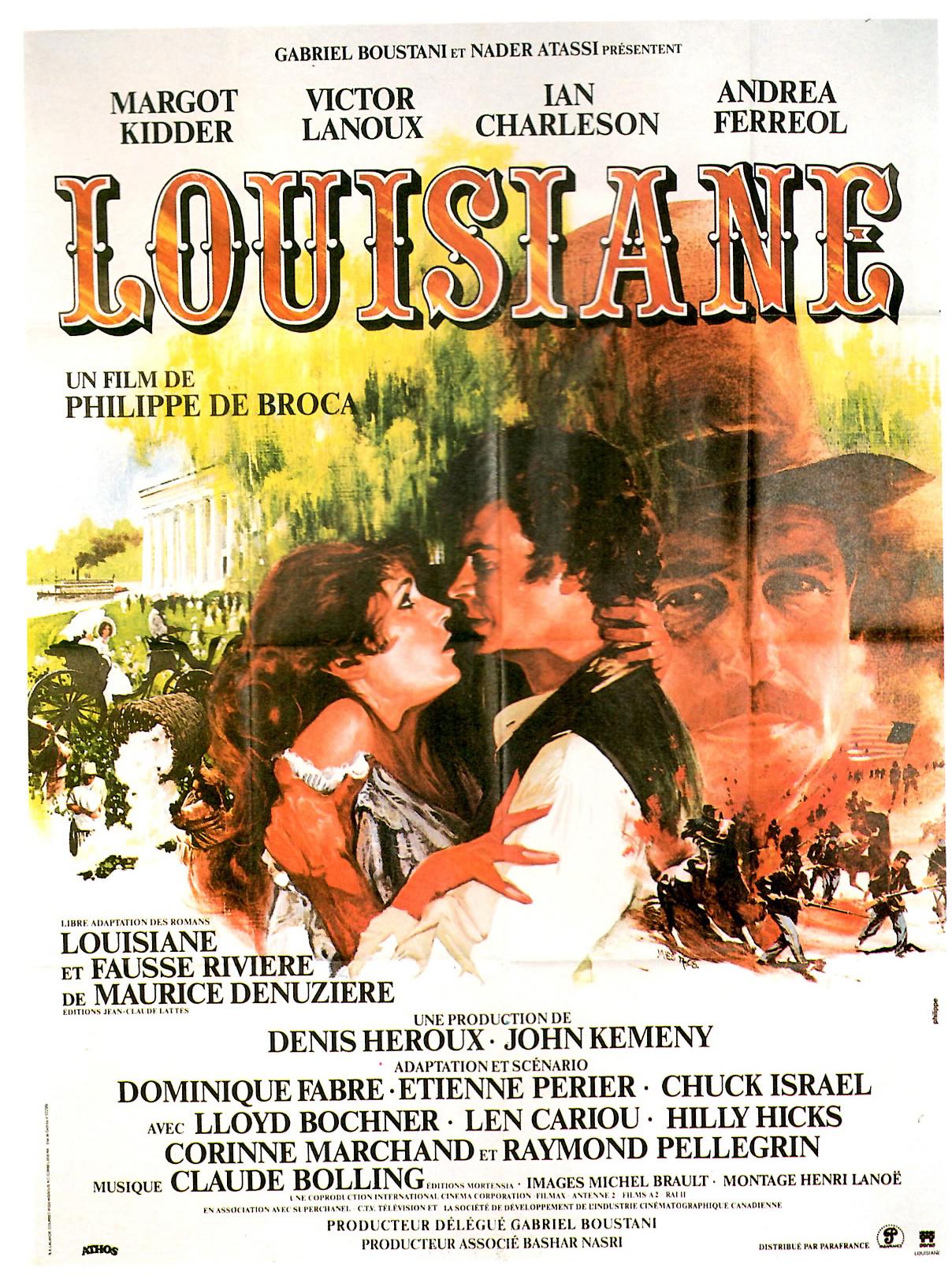 Affiche du film Louisiane de Philippe de Broca