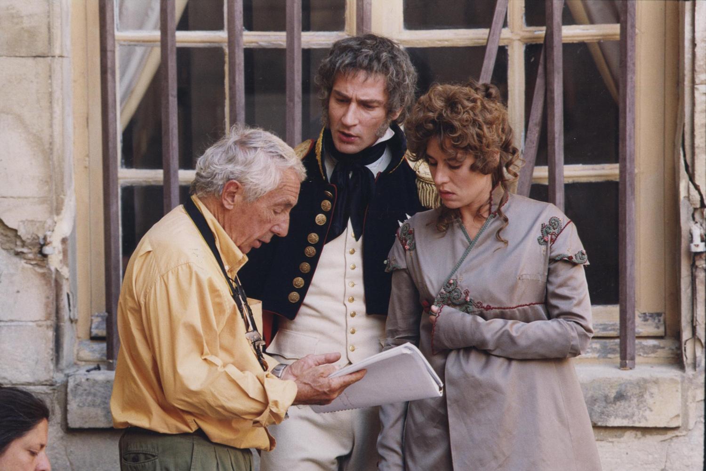 Sur le tournage de Madame Sans-gêne de Philippe de Broca
