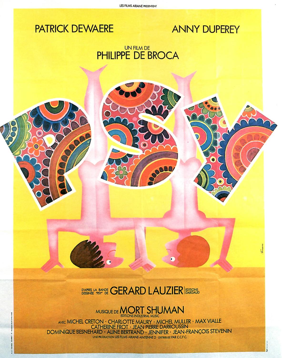 Affiche du film Psy de Philippe de Broca