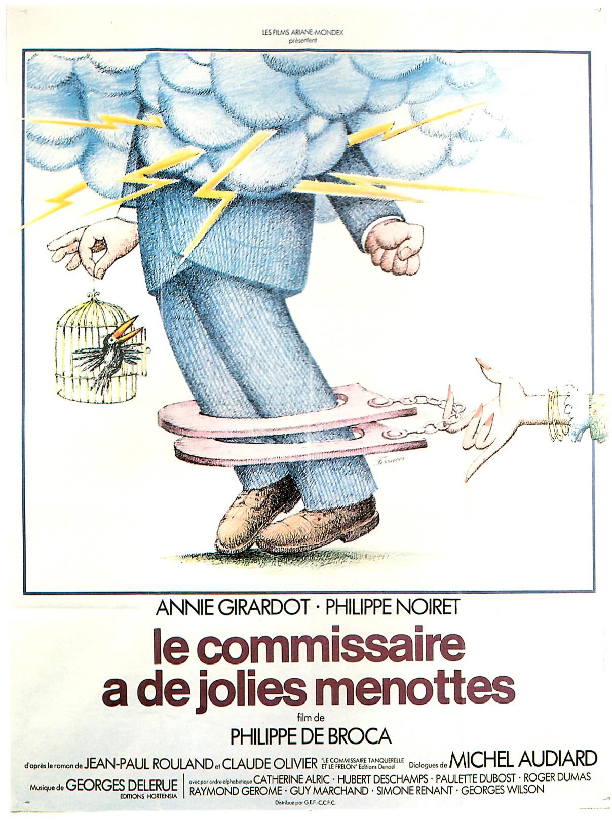 Affiche du film Tendre poulet de Philippe de Broca