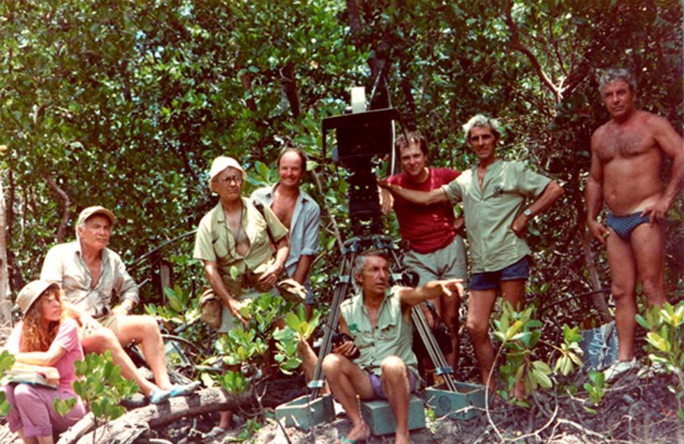 Sur le tournage de L'Africain de Philippe de Broca