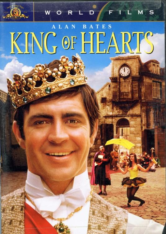 Affiche du film Le Roi de Cœur de Philippe de Broca