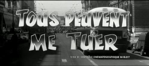 Philippe de Broca, stagiaire caméra sur ce film d'Henri Decoin. Non crédité au générique